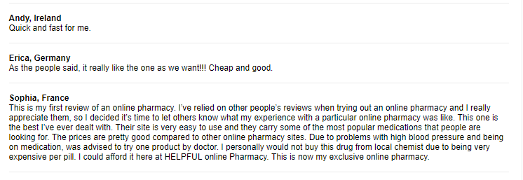 Pharmacy Mall Reviews