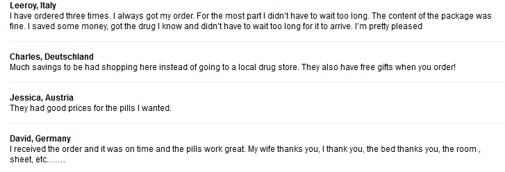 Online RX Client Reviews